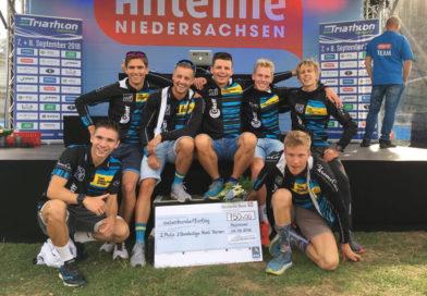 Vizemeisterschaft für HSV-Triathleten in der 2. Triathlon-Bundesliga Nord