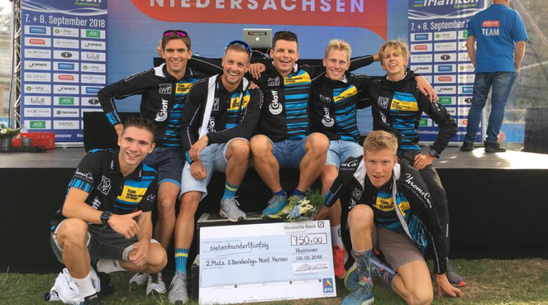 Vizemeisterschaft für HSV-Triathleten in der 2. Triathlon-Bundesliga Nord