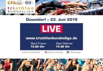 1. Triathlon Bundesliga mit HSV-Athleten in Düsseldorf // Livestream verfügbar