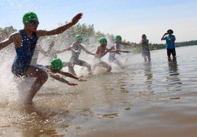 3 Podestplätze für die Weimarer Triathleten beim 4. Sparkassen-TriDay am Störmthaler See