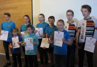 Auszeichnungsveranstaltung zum Thüringer Triathlon Cup 2019