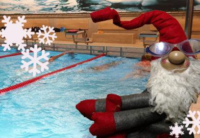 Das Schwimmtraining macht Weihnachtspause
